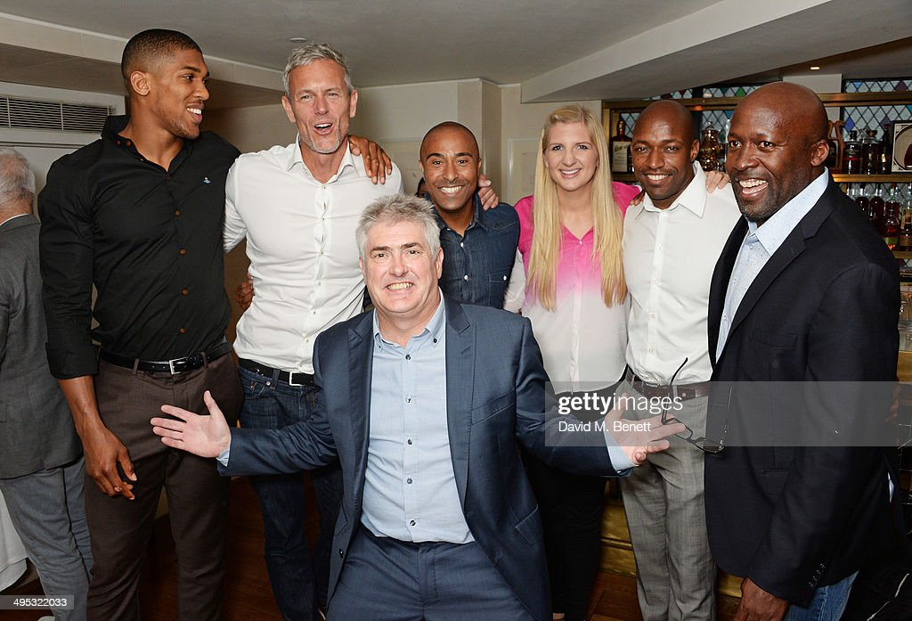 Colin Jackson Hosts Olympian Sports Quiz Night In Aid Of 'Go Dad Run' At The Club At The Ivy : News Photo