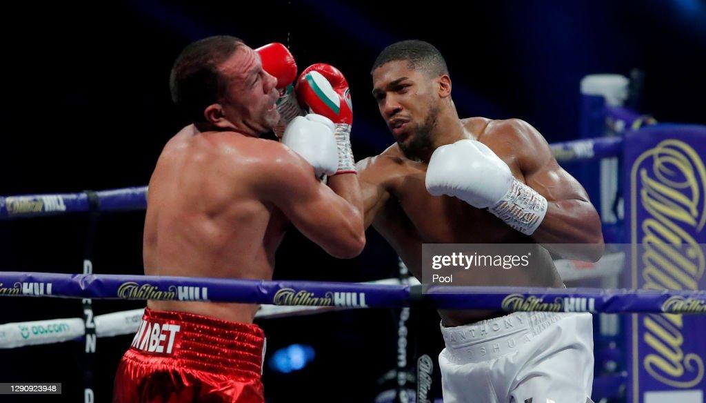 Anthony Joshua v Kubrat Pulev - IBF, WBA, WBO and IBO World Heavyweight Title Fight : ニュース写真