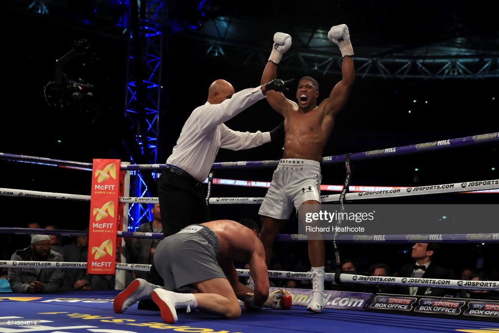 Boxing at Wembley Stadium : News Photo