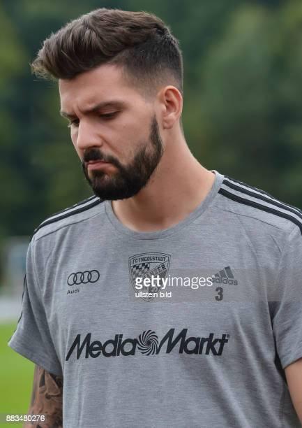 Anthony Jung waehrend dem Testspiel fuer die Fussball Bundesliga Saison 2016/2017 FC Ingolstadt 04 gegen SV Werder Bremen am 13 August 2016 in Lohne
