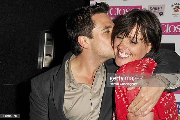 Anthony Kavanagh and Suranne Jones during Brian Friedman Birthday Party Outside Arrivals at Punk in London Great Britain
