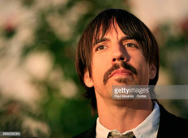 Anthony Keidis singer and frontman of the Red Hot Chili Peppers arrives at the 3rd Annual MusiCares MAP Fund Benefit Concert to honor Chris Cornell...