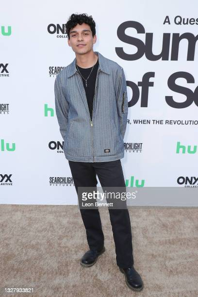 """Anthony Keyvan attends a Cinespia Special Screening Of Fox Searchlight And Hulu's """"Summer Of Soul"""" With Questlove at The Greek Theatre on July 09,..."""