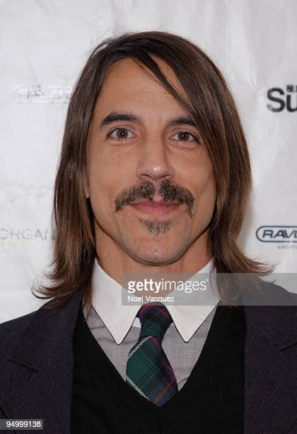 Anthony Kiedis attend the Cambodian Children's Fund and Children Of The Night Holiday Charity event at Shop For A Cause PopUp Boutique on December 21...