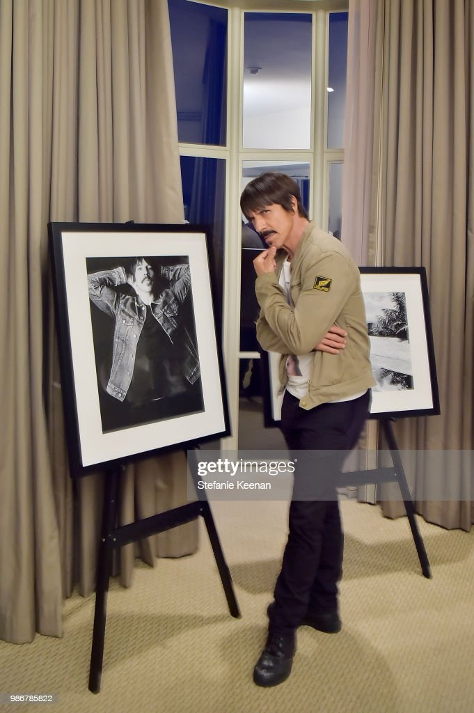 Anthony Kiedis attends Diesel Presents Scott Lipps Photography Exhibition 'Rocks Not Dead' at Sunset Tower on June 28, 2018 in Los Angeles, California.