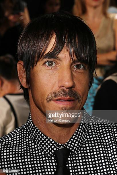 Anthony Kiedis attends DKNY Women's fashion show during MercedesBenz Fashion Week Spring 2014 on September 8 2013 in New York City