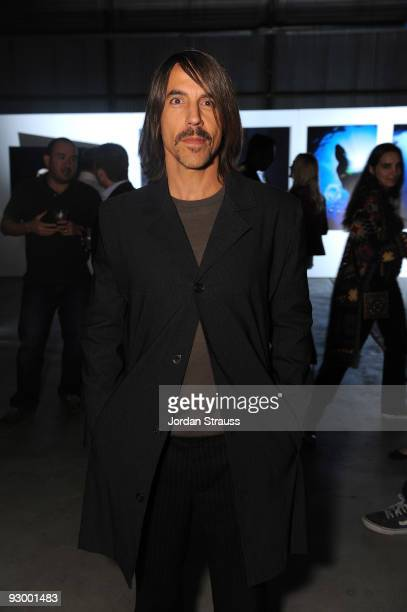 Anthony Kiedis attends IWC Schaffhausen Celebrate Michael Muller And The Charles Darwin Foundation at Milk Studios on November 11 2009 in Hollywood...
