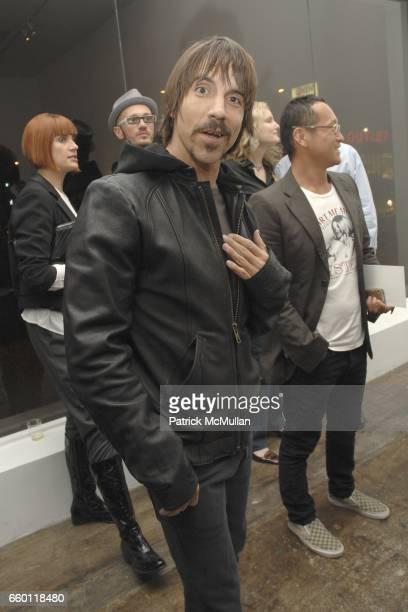 Anthony Kiedis attends SHE Images of women by Wallace Berman and Richard Prince Opening at Michael Kohn Gallery on January 15 2009 in Beverley Hills...