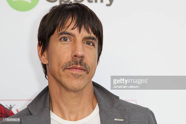 Anthony Kiedis attends the Guy Oseary's July 4th event in Malibu presented by Spotify and Live Nation with DeLeon and VitaCoco at Nobu Malibu on July...