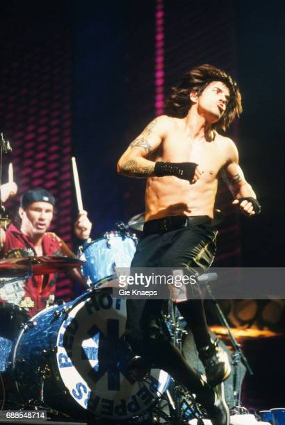 Anthony Kiedis Chad Smith Red Hot Chili Peppers Sportpaleis Antwerpen Belgium