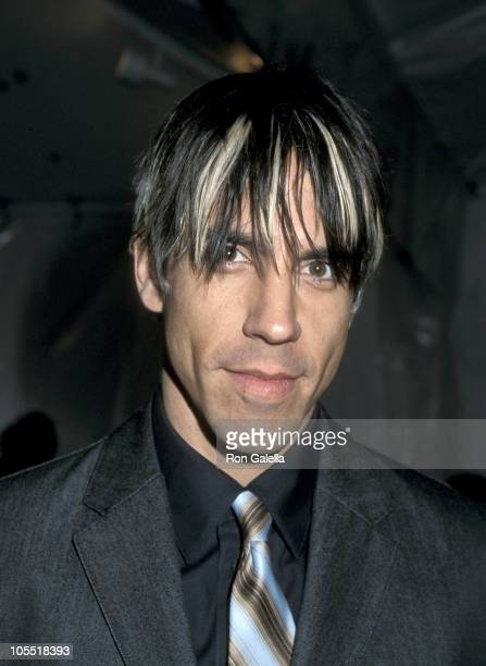 Anthony Kiedis during 15th Annual Soul Train Awards at Shrine Auditorium in Los Angeles California United States