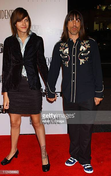 Anthony Kiedis during 'After the Sunset' Los Angeles Premiere Arrivals at Grauman's Chinese Theater in Hollywood California United States