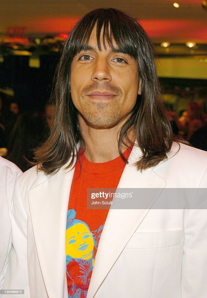 Anthony Kiedis during Juicy Couture Store Opening at Forum Shops in Las Vegas, Nevada, United States.