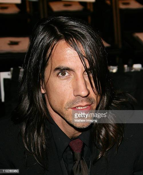 Anthony Kiedis during MercedesBenz Fall 2006 LA Fashion Week at Smashbox Studios Louis Verdad Front Row and Backstage at Smashbox Studios in Culver...