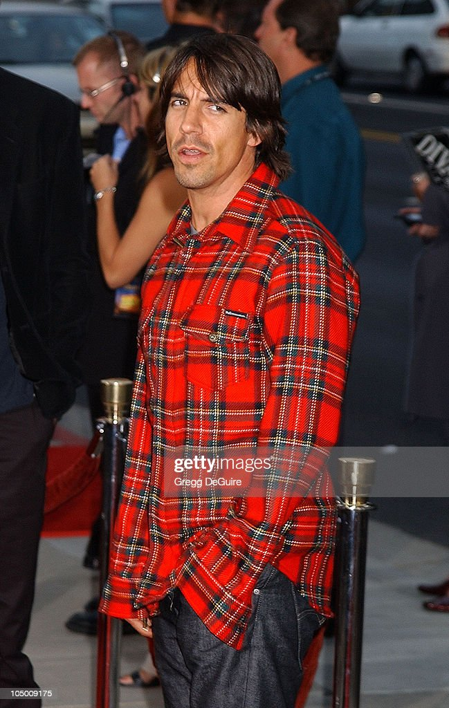 Anthony Kiedis during 'One Hour Photo' Premiere at Academy Theatre in Beverly Hills, California, United States.