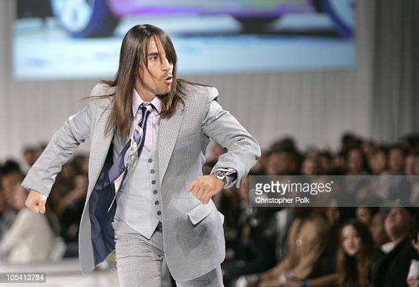 Anthony Kiedis during The 4th Annual ten Fashion Show Presented by General Motors Show at 1540 Vine Street in Hollywood California United States