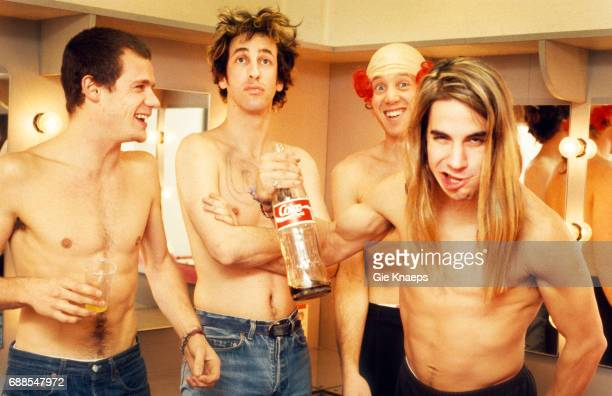 Anthony Kiedis Flea Hillel Slovak Jack Irons Red Hot Chili Peppers Ancienne Belgique Brussels Belgium