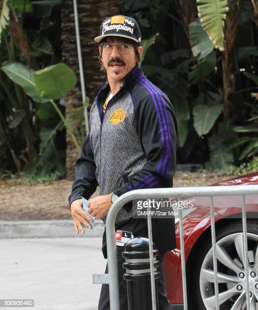 Anthony Kiedis is seen on March 11 2018 in Los Angeles CA