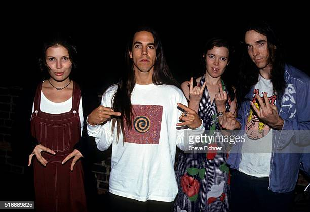 Anthony Kiedis of Red Hot Chili Peppers at Club USA New York September 24 1993