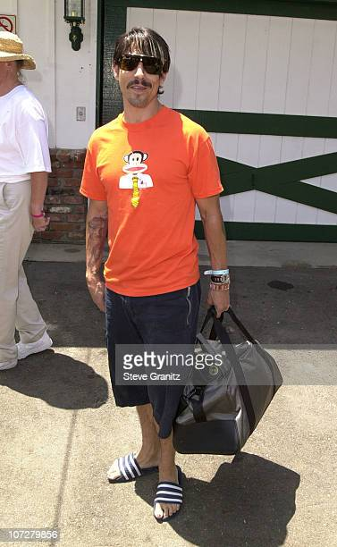 Anthony Kiedis of Red Hot Chili Peppers during A Time for Heroes Benefit for the Elizabeth Glaser Pediatric AIDS Foundation 2001 in Los Angeles...