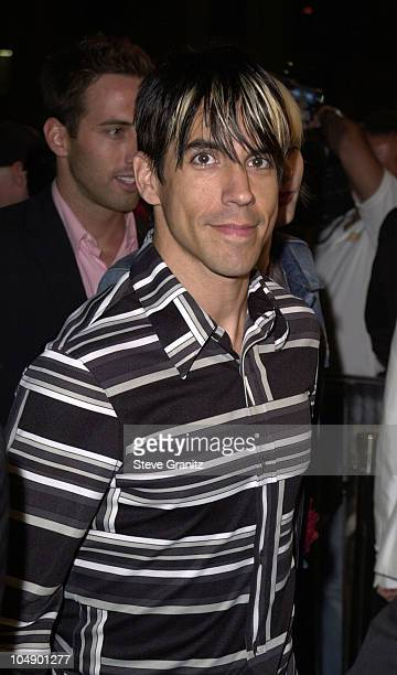 Anthony Kiedis of Red Hot Chili Peppers during Blow Los Angeles Premiere at Chinese Theatre in Hollywood California United States