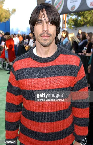 Anthony Kiedis of Red Hot Chili Peppers during ESPN Action Sports and Music Awards Arrivals at The Universal Amphitheater in Universal City...