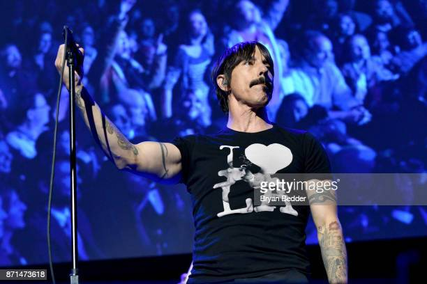 Anthony Kiedis of Red Hot Chili Peppers performs onstage during the 11th Annual Stand Up for Heroes Event presented by The New York Comedy Festival...