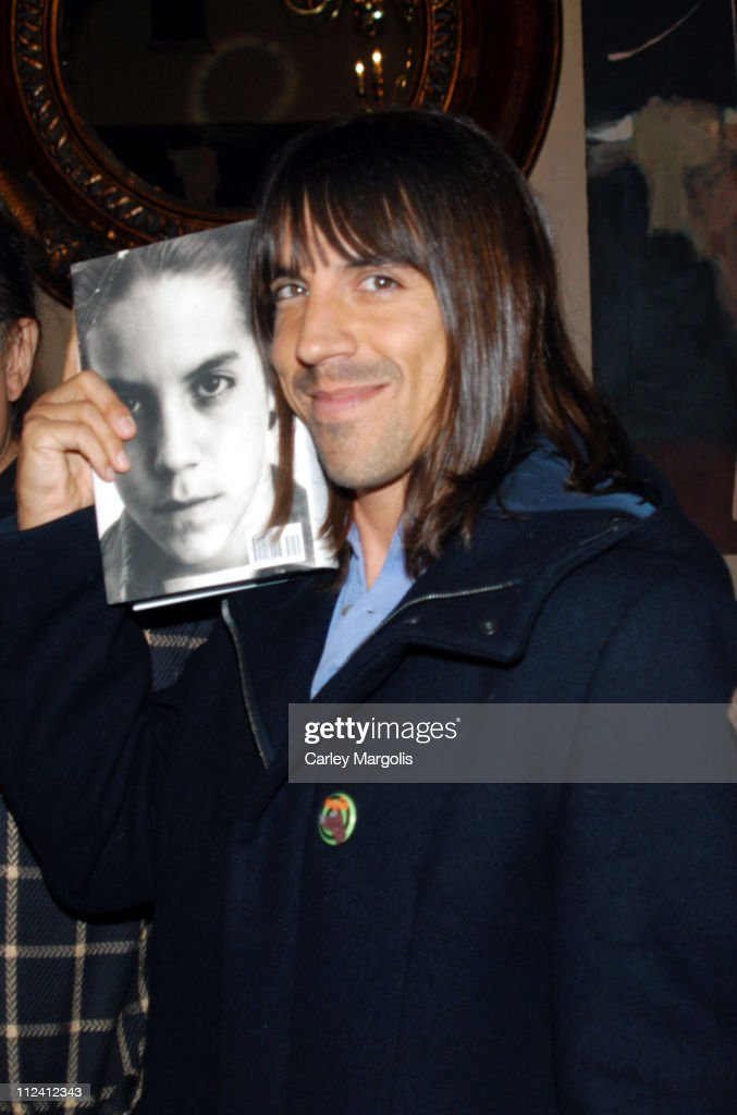 "Anthony Kiedis Celebrates the Release of His New Book ""Scar Tissue"""
