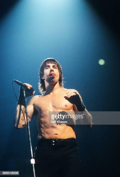 Anthony Kiedis Red Hot Chili Peppers Sportpaleis Antwerpen Belgium
