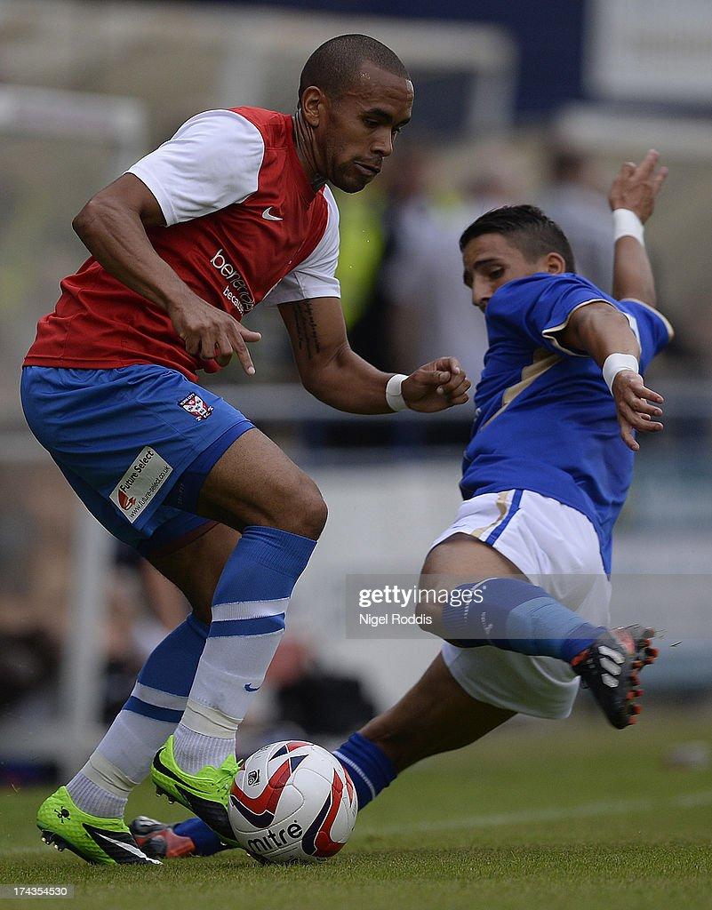 York City v Leicester City-Pre Season Friendly : News Photo