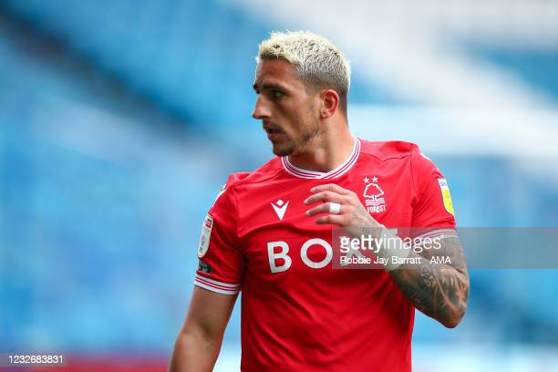 Anthony Knockaert of Nottingham Forest during the Sky Bet Championship match between Sheffield Wednesday and Nottingham Forest at Hillsborough...