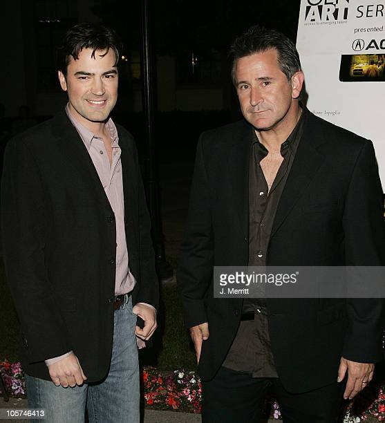 Anthony LaPaglia and Ron Livingston during 'Winter Solstice' Los Angeles Premiere at Paramount Studios in Hollywood California United States