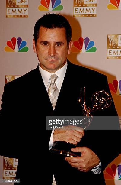 Anthony Lapaglia during The 54th Annual Primetime Emmy Awards Press Room at The Shrine Auditorium in Los Angeles California United States