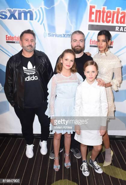 Anthony LaPaglia Talitha Bateman David F Sandberg Lulu Wilson and Stephanie Sigman attend SiriusXM's Entertainment Weekly Radio Channel broadcast...