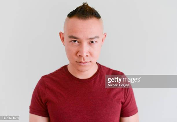 Anthony Li poses for portrait at The Artists Project on April 12 2017 in Los Angeles California