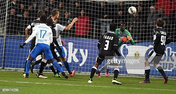 Anthony Limbombe forward of Club Brugge pictured during Croky cup 1/8 F match between KASEupen and Club Brugge KV on November 29 2016 in Eupen Belgium