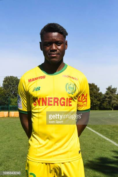 Anthony Limbombe of Nantes during the Nantes Photoshooting on September 17 2018 in Nantes France