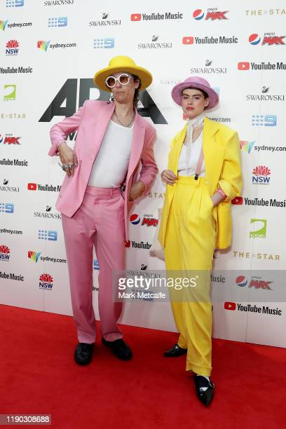 Anthony Lister arrives for the 33rd Annual ARIA Awards 2019 at The Star on November 27, 2019 in Sydney, Australia.