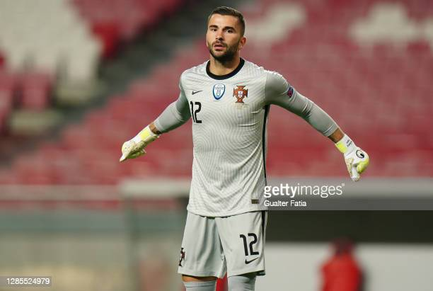 Anthony Lopes of Portugal and Lyon during the International Friendly match between Portugal and Andorra at Estadio da Luz on November 11, 2020 in...