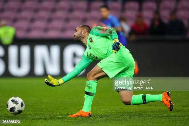 Anthony Lopes of Portugal during the International Friendly match between Portugal and Holland at Stade de Geneve on March 26 2018 in Geneva...