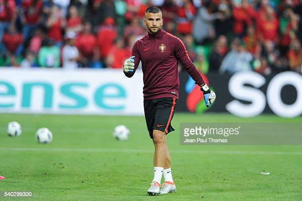 Anthony LOPES of Portugal during the UEFA EURO 2016 Group F match between Portugal and Iceland on June 14 2016 in SaintEtienne France