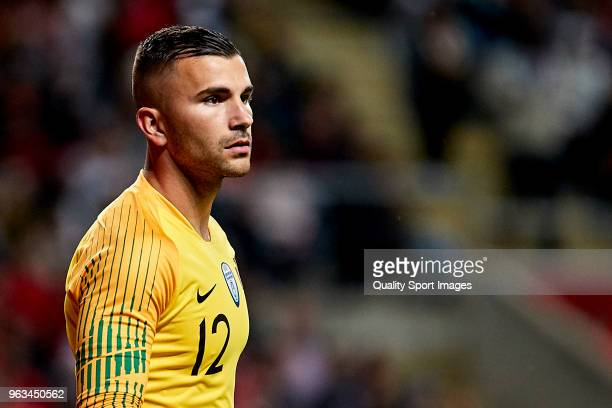 Anthony Lopes of Portugal looks on during the friendly match of preparation for FIFA 2018 World Cup between Portugal and Tunisia at the Estadio AXA...