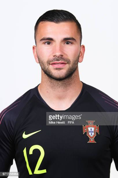 Anthony Lopes of Portugal poses for a portrait during the official FIFA World Cup 2018 portrait session on June 10 2018 in Moscow Russia