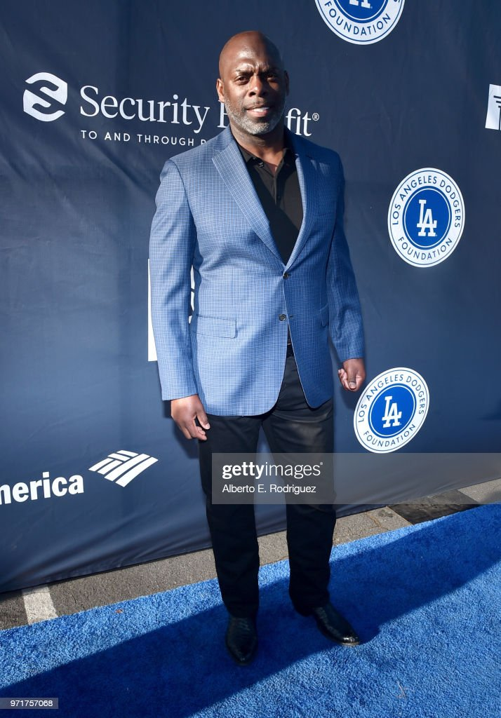 Anthony Lynn attends the Fourth Annual Los Angeles Dodgers Foundation Blue Diamond Gala at Dodger Stadium on June 11, 2018 in Los Angeles, California.