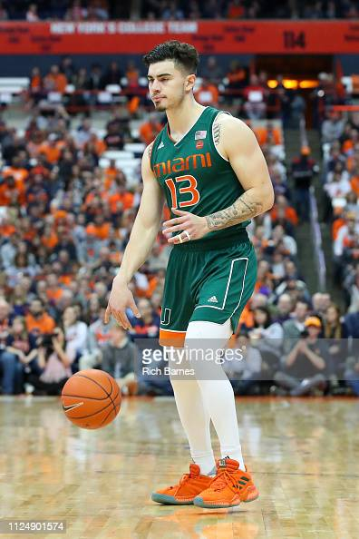 Anthony Mack of the Miami Hurricanes controls the ball against the ...