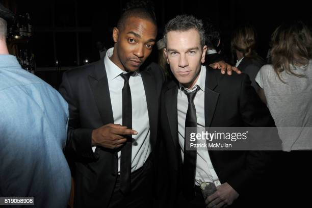 Anthony Mackie and Josh Reed attend The Unofficial After Party for THE METROPOLITAN MUSEUM OF ART'S Spring 2010 COSTUME INSTITUTE Benefit Gala on Top...