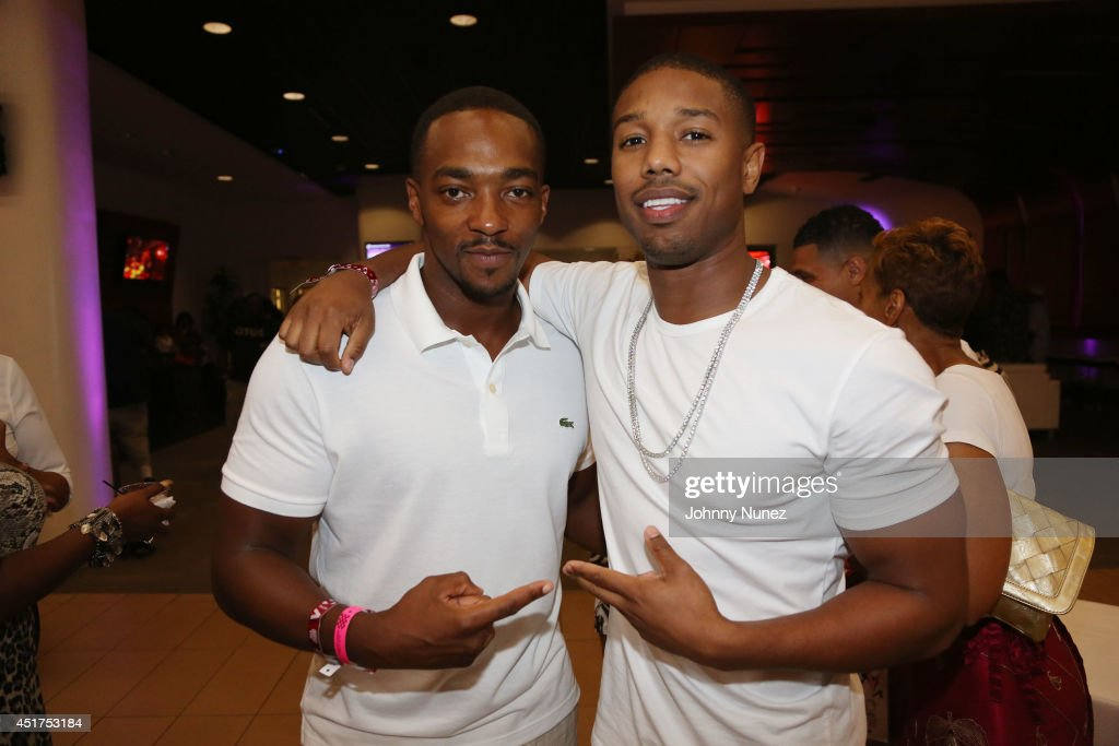 Anthony Mackie and Michael B. Jordan attend the 2014 Essence Music Festival on July 5, 2014 in New Orleans, Louisiana.