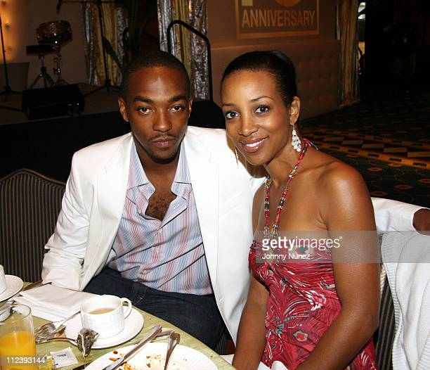 Anthony Mackie and Shaun Robinson during 2006 ABFF Independent Film Awards July 23 2006 at RitzCarlton Hotel in Miami Florida United States