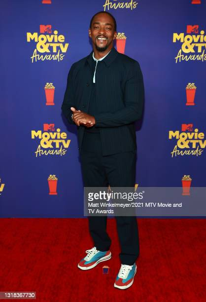 Anthony Mackie attends the 2021 MTV Movie & TV Awards at the Hollywood Palladium on May 16, 2021 in Los Angeles, California.