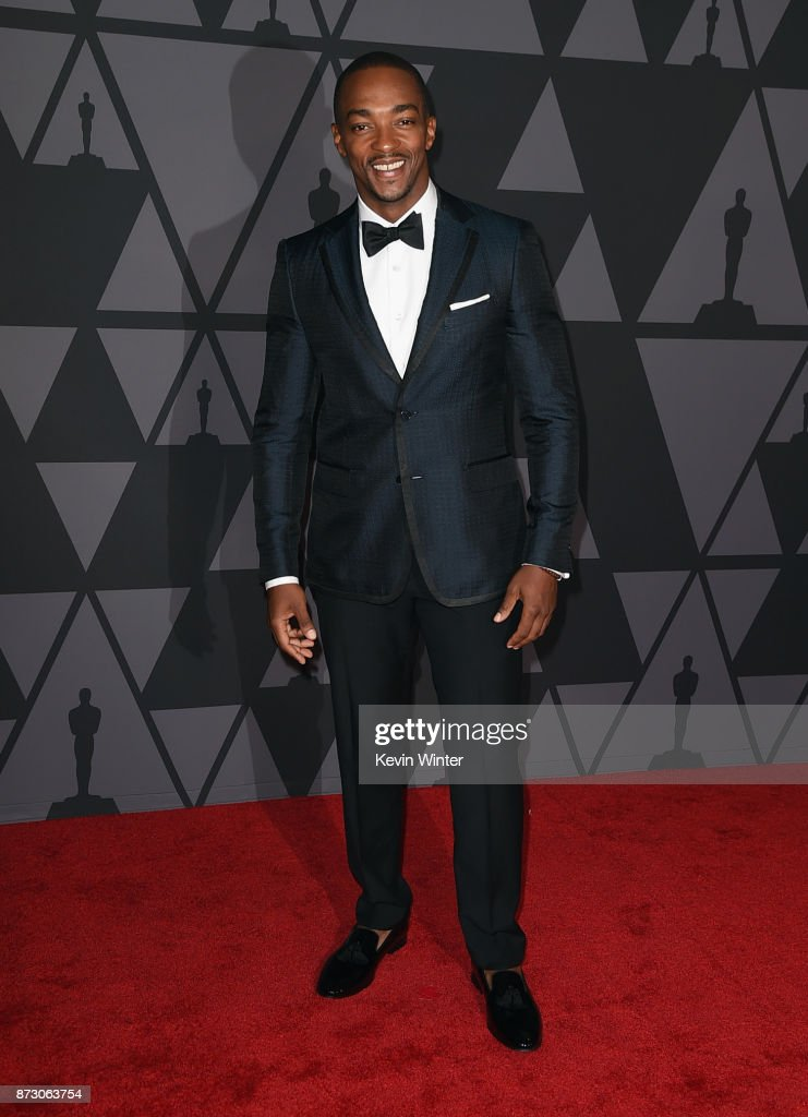 Anthony Mackie attends the Academy of Motion Picture Arts and Sciences' 9th Annual Governors Awards at The Ray Dolby Ballroom at Hollywood & Highland Center on November 11, 2017 in Hollywood, California.